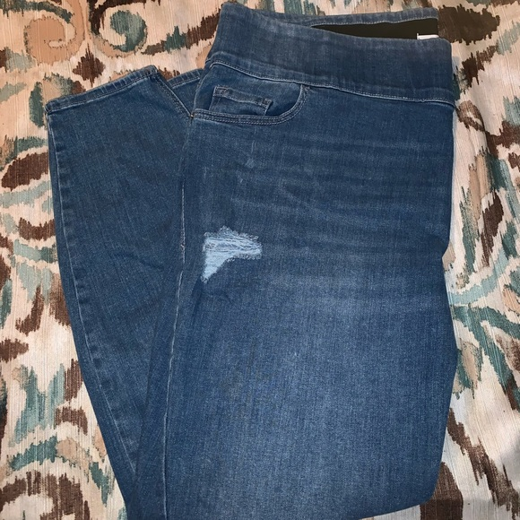 Old Navy Denim - Old Navy Rockstar Pull On Skinny Jeans 22 Short